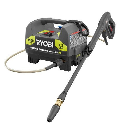 best small electric pressure washer  Ryobi Electric Pressure washer RY141612