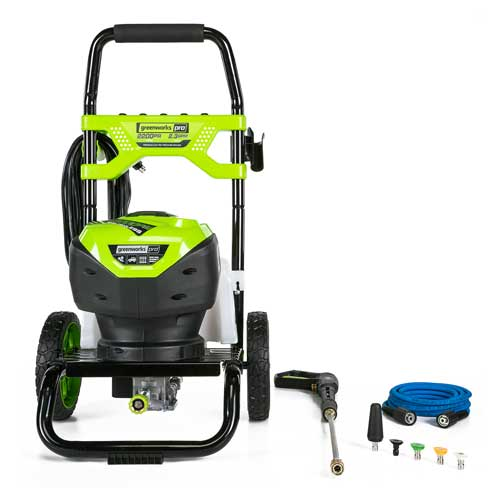 Greenworks vs ryobi pressure washer review and guide