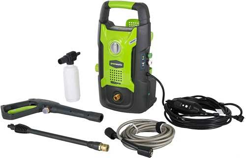 Green works vs ryobi pressure washer GPW1602 review