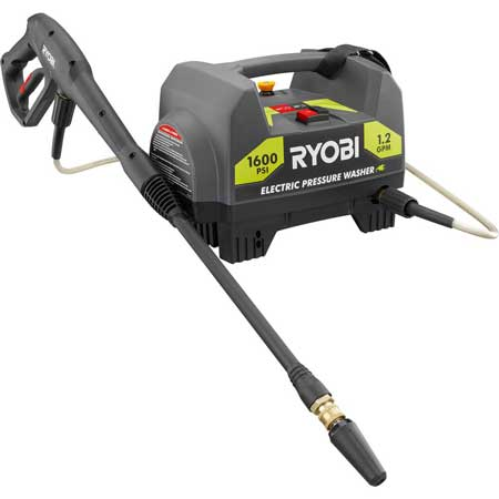 Ryobi 1600 PSI electric pressure washer Troubleshooting