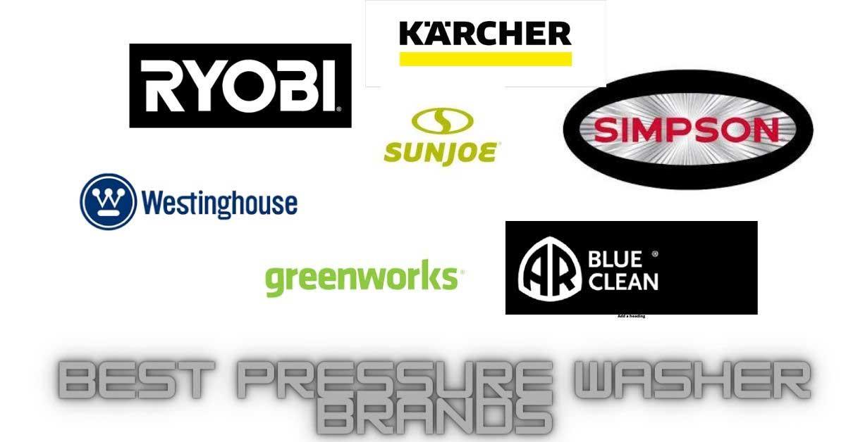 best electric pressure washer brands 2020