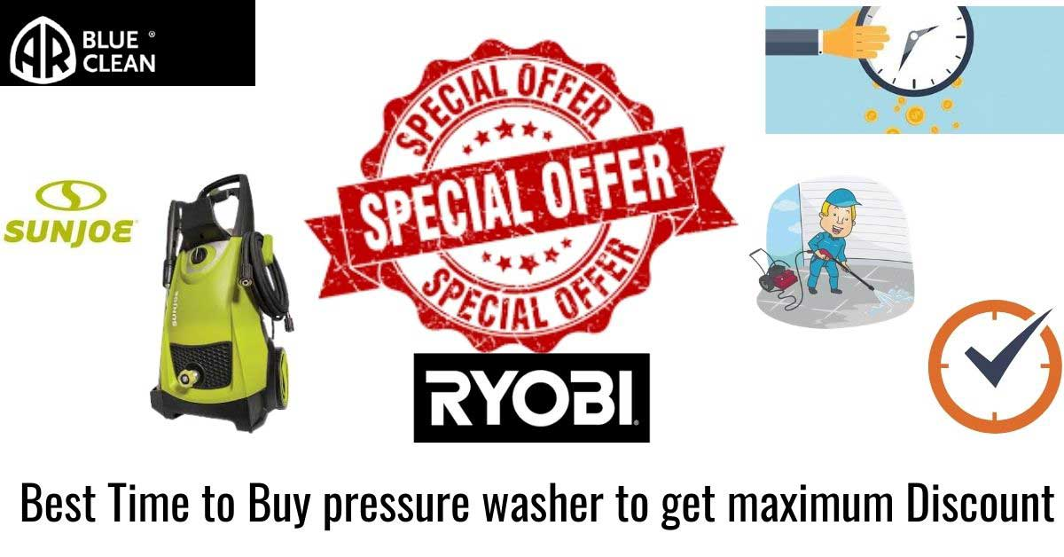 Best time to buy pressure washer in 2020
