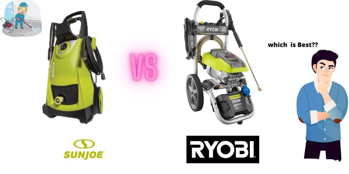 sun joe vs yobi pressure washer : which is best?