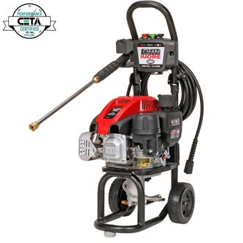 gas pressure washer for car wash