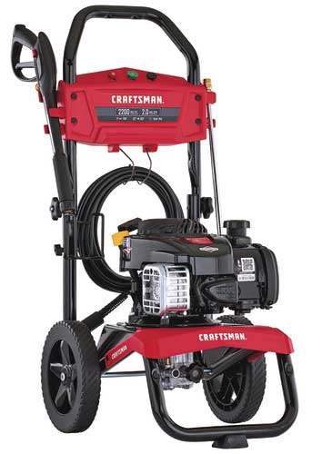 we have checked it a very good gas pressure washer for cars
