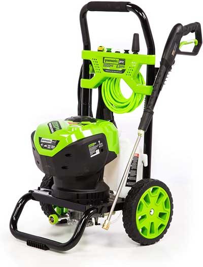 Greenworks best 2000 PSI electric pressure washer which is worth to buy