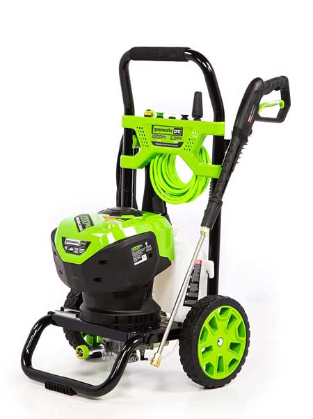 greenworks is the most reliable pressure waher brands