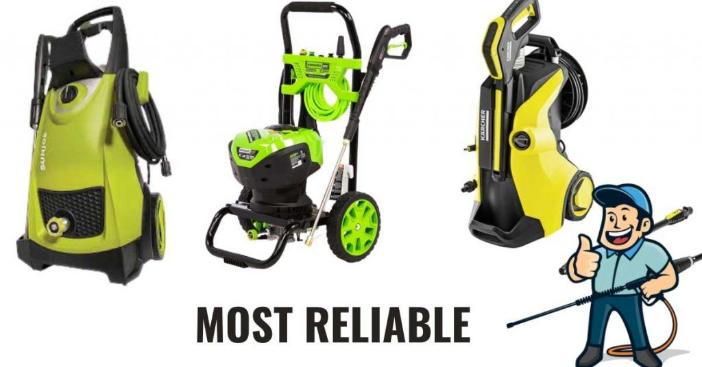 most reliable electric pressure washer
