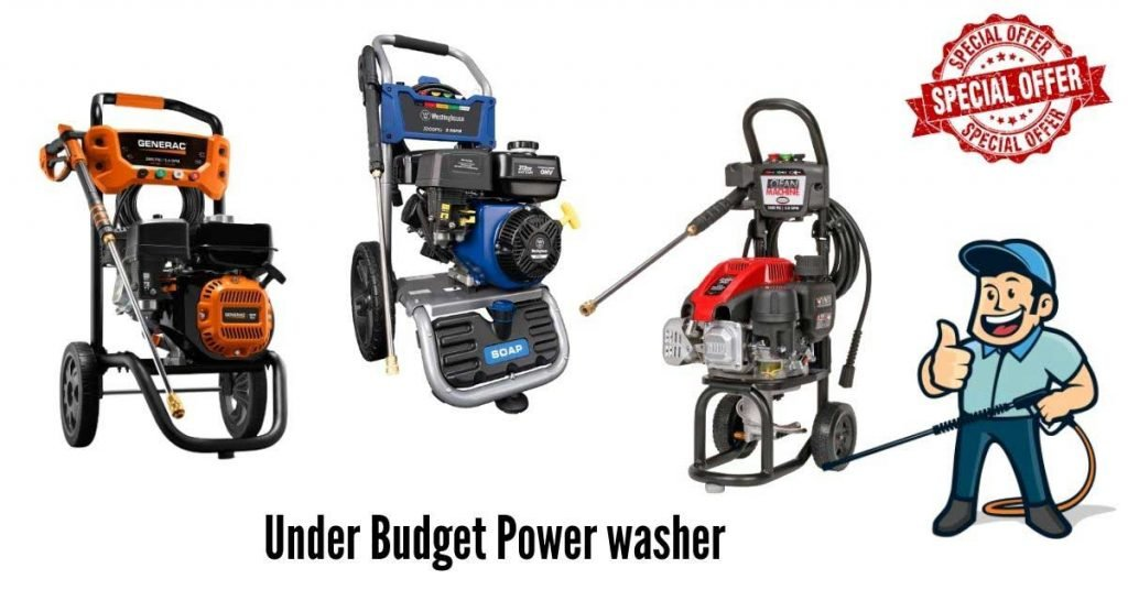 best budget pressure washer for home cleaning jobs
