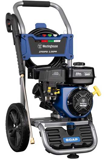 westinghouse wpx2700 is best budget power washer for cars