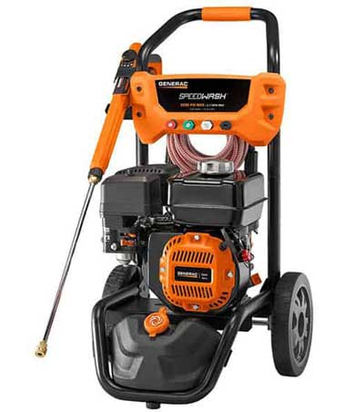 generac or simpson pressure washer both manufacture quality pressure washer