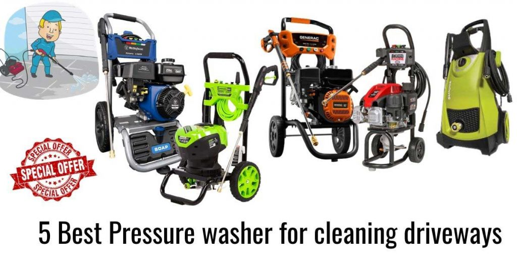 complete guide on Best pressure washer for cleaning driveways