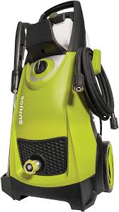 The electric pressure washer is worth buying for driveways