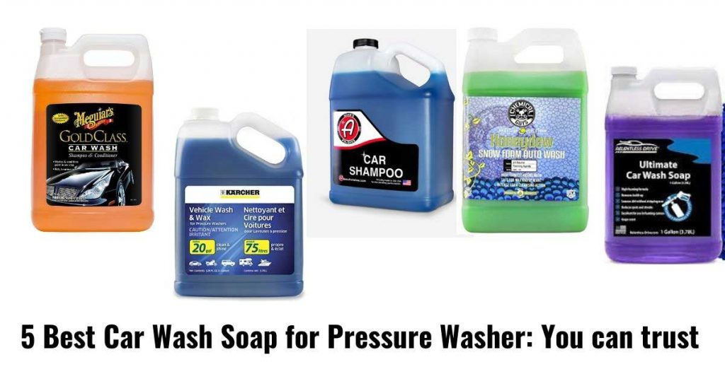 pressure washer required car wash for effective cleaning