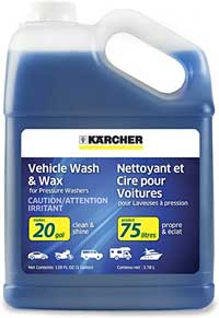 shampoo is much needed for car washing once a week