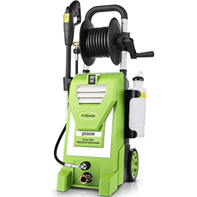 strongest electric power washer