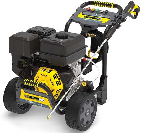 Most powerful gas pressure washer